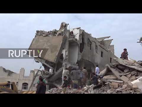 Yemen: At least 14 killed in Saudi-led airstrike in Sanaa