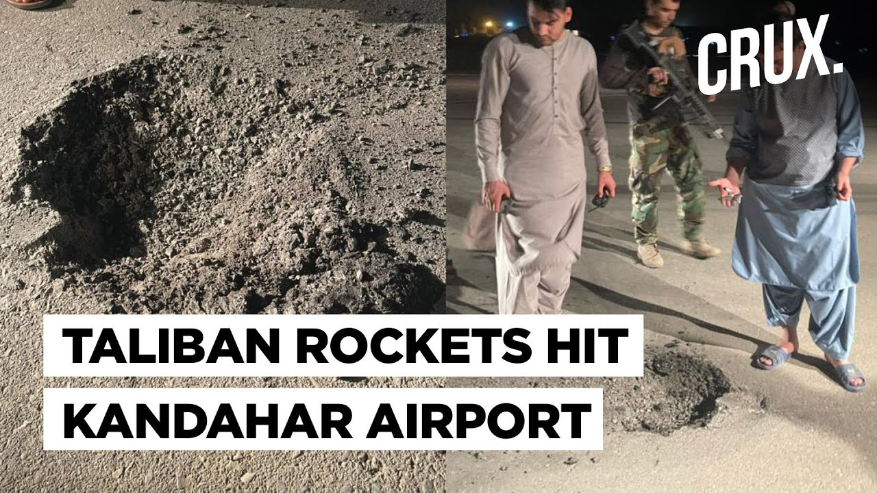 Download Taliban Shifts Attack To Afghanistan's Cities: Rockets Strike Kandahar Airport