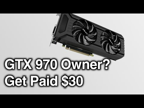 Nvidia Owes You $30 | How To Claim GTX 970 Lawsuit!