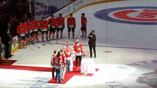 Chicago Blackhawks Celebrate the Cubs World Series Win