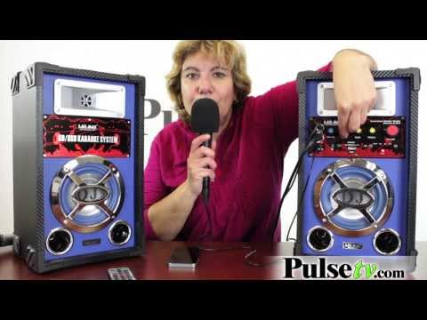Dual Speaker Karaoke System