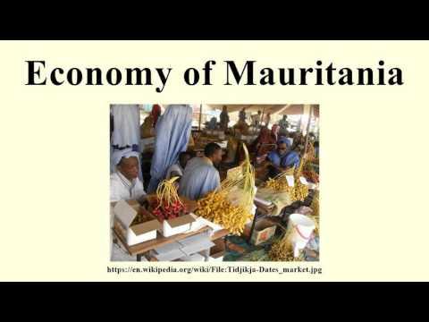 Economy of Mauritania