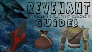 RuneScape Ultimate Revenant Money Making Guide 2013 RS3| July 2013 - 100k- 24m Per Hour| Risk Free