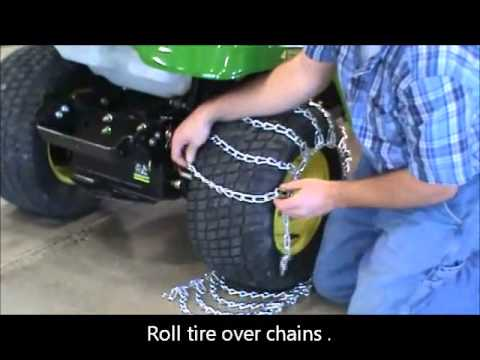 How To Install Twist Link Tire Chains Youtube