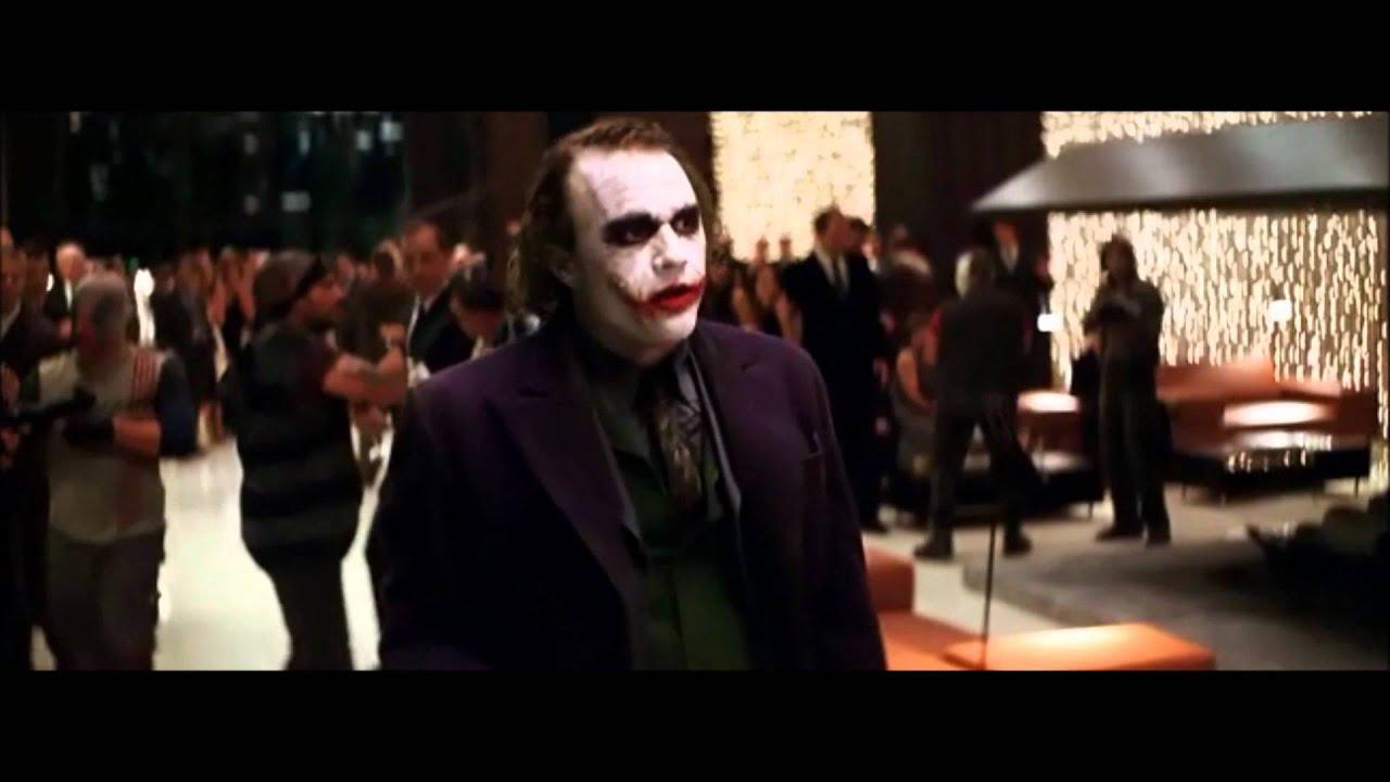 Famous Movie Scene The Dark Knight Joker Crashes The Party Hd