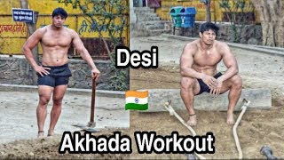 Desi Akhada Workout Ft. पहलवान Sunny Joon