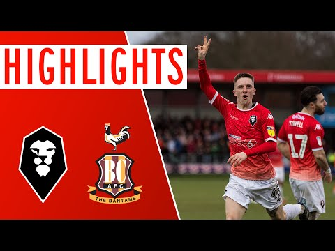 Salford Bradford Goals And Highlights