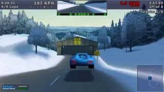 Need For Speed III - Hot Pursuit - Hot Pursuit: Country Woods (1998) (WINDOWS)