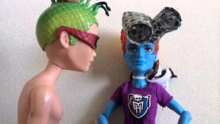 StopMotion/Monster High/Холт Бэтмэн???или Дьюс в ЮБКЕ!!!