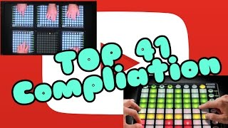 top 41 best launchpad covers of all time compliation 2017 colorful dubstep art