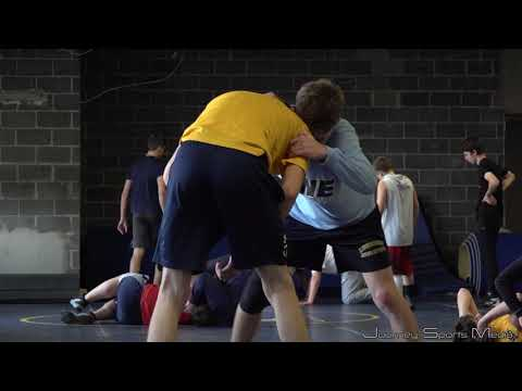 Our Lady Of Lourdes High School Wrestling's First Practice of the 2019-2020 Season.