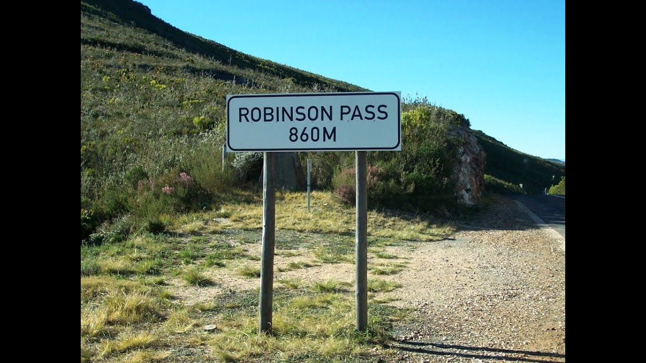 Robinson Pass (R328) Part 1- Orientation - Mountain Passes of South Africa