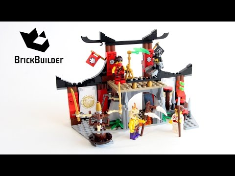 Lego Ninjago 70756 Dojo Showdown Lego Speed Build Youtube
