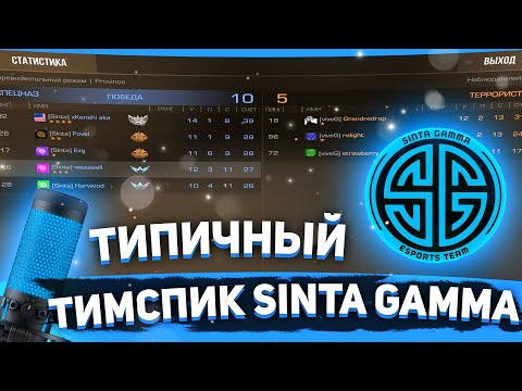 САМЫЙ ТИПИЧНЫЙ ТИМСПИК Sinta Gamma ПРОТИВ Vive Gracia | Standoff 2
