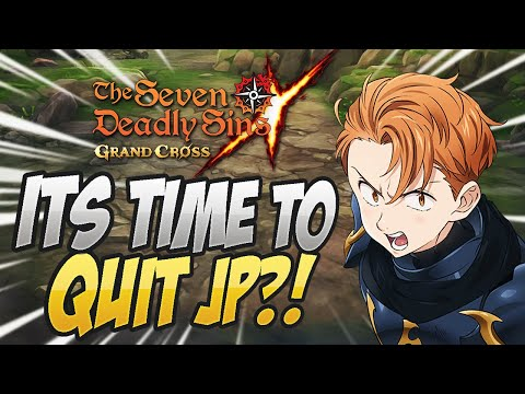 WITH THIS UPDATE WE ARE CAUGHT UP TO JP?! Maintenance Notice! Seven Deadly Sins Grand Cross