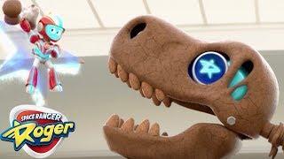 Space Ranger Roger | Dinosaurier Jagen | Cartoons Für Kinder, Zeichentrickfilme Für Kinder