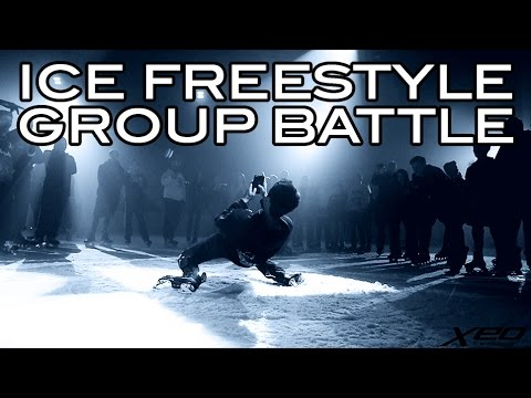 Ice Freestyle Group Battle - Freestyle Ice Skating - Raw shot