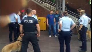 German Police vs. Angry Lebanese Mob