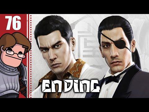 Let's Play Yakuza 0 Part 76 FINALE - Men in Suits