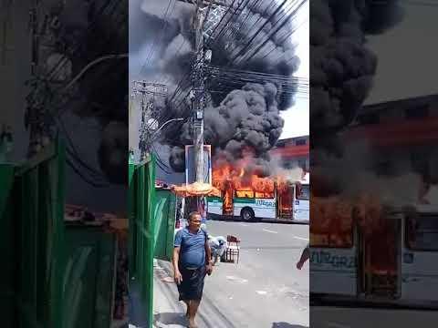 Ônibus incendiado em Sussuarana Nova - YouTube 420995c502f48