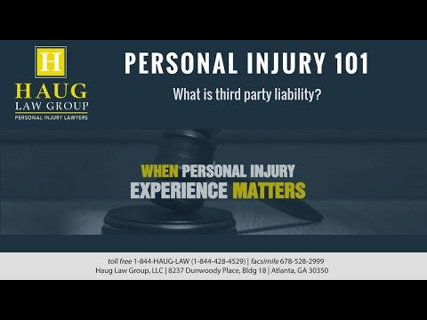 What is third party liability?