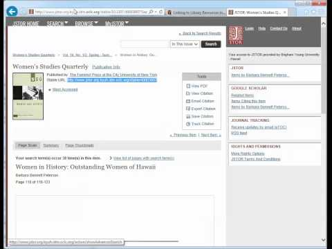 Proxy link for JSTOR article