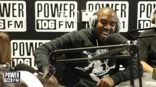 Kanye West performs 'Otis' LIVE in-studio at POWER 106