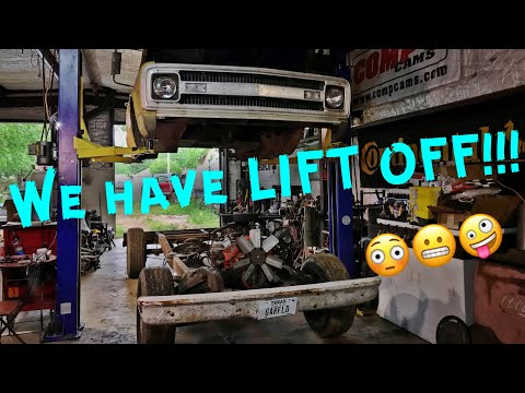 Our Truck As A ROLLING CHASSIS! In The Shop With Emily EP 51