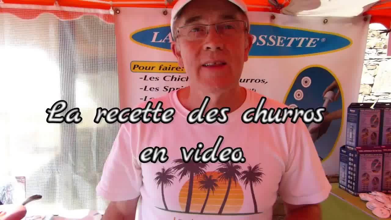 Recette Churros De Fete Foraine comment faire des churros et des chichis très facilement et très rapidement.