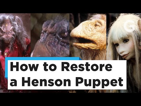 How to Restore a Jim Henson Puppet with FX Artist Tom Spina