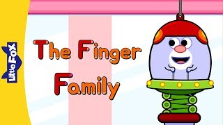 The Finger Family | Learning Song | By Little Fox
