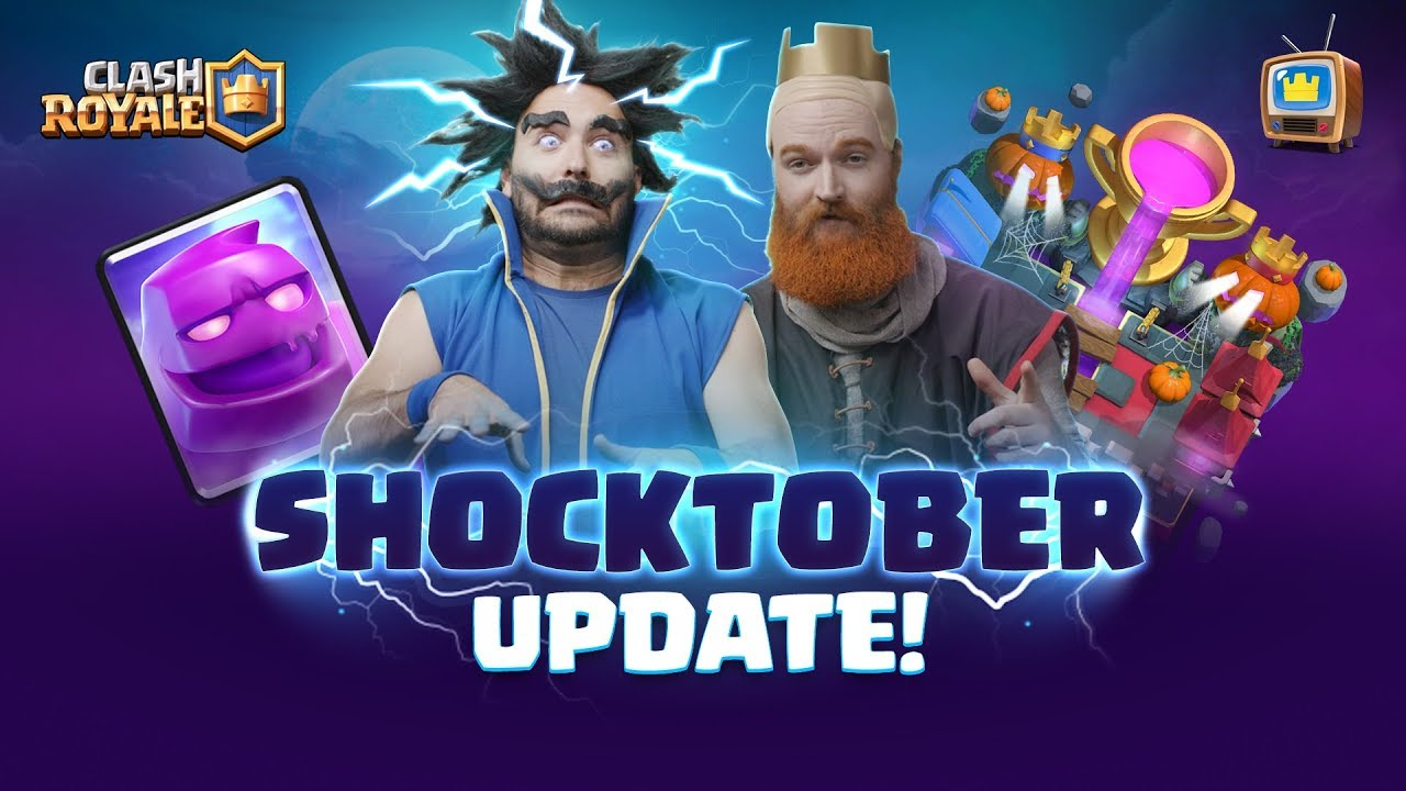 Clash Royale  SEASON 4: SHOCKTOBER  TV Royale Halloween Update