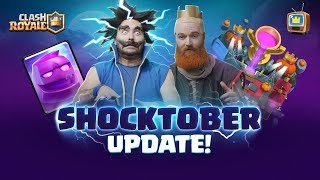 Clash Royale 🎃 SEASON 4: SHOCKTOBER 👻 TV Royale Halloween Update