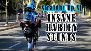 Insane Harley Stunts // One Of Those Days DVD teaser Straight Up SJ