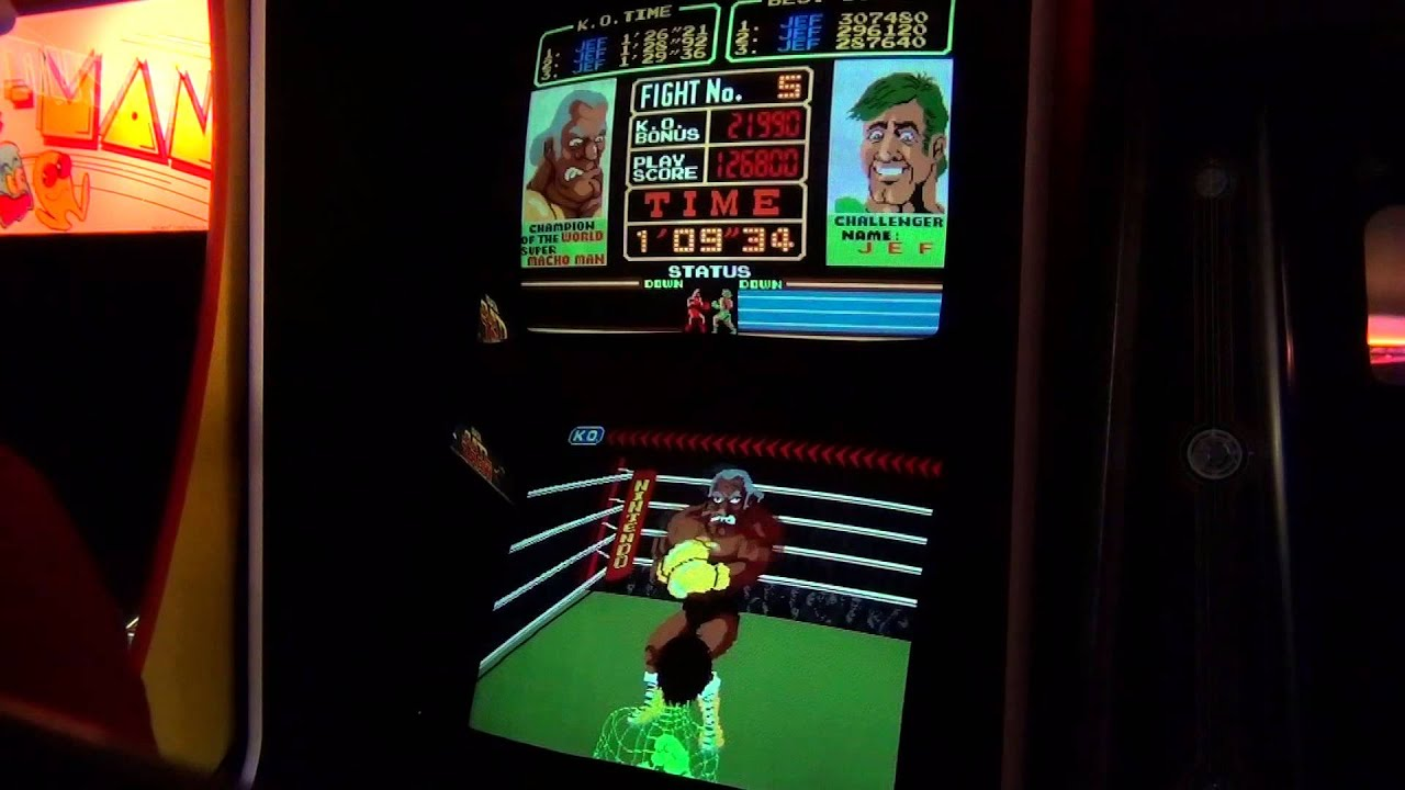 Nintendo Super Punch Out Arcade - 283,470 - YouTube