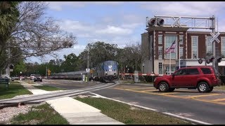 Amtrak AUTO TRAIN and others Sunrail Corridor