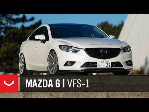 "Mazda 6 ""Atenza"" | Mt Fuji | Vossen 20"" VFS1 (4K)"