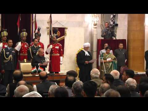 JUSTICE JAGDISH SINGH KHEHAR SWORN IN AS THE CHIEF JUSTICE OF THE SUPREME COURT OF INDIA