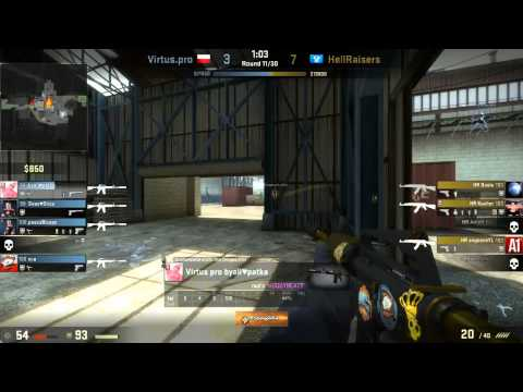 Caseking of the Hill #6 - Virtus.Pro vs. Hellraisers (map 2)