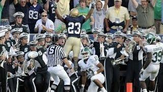 2009:  Notre Dame vs. Michigan State