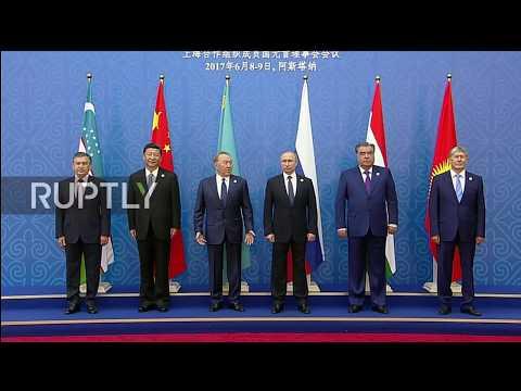 Kazakhstan: Putin, Xi Jinping and other SCO leaders begin meeting in Astana