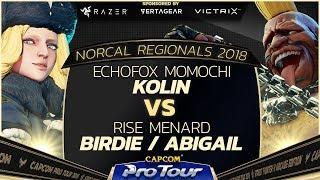 EchoFox | Momochi (Kolin) vs. Rise | MenaRD (Birdie, Abigail) - Top 16 - NCR 2018 - SFV - CPT 2018