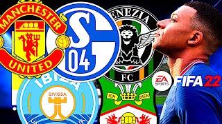 TOP 10 BESTE TEAMS FÜR DEN FIFA 22 KARRIEREMODUS !!! 🔝🔥
