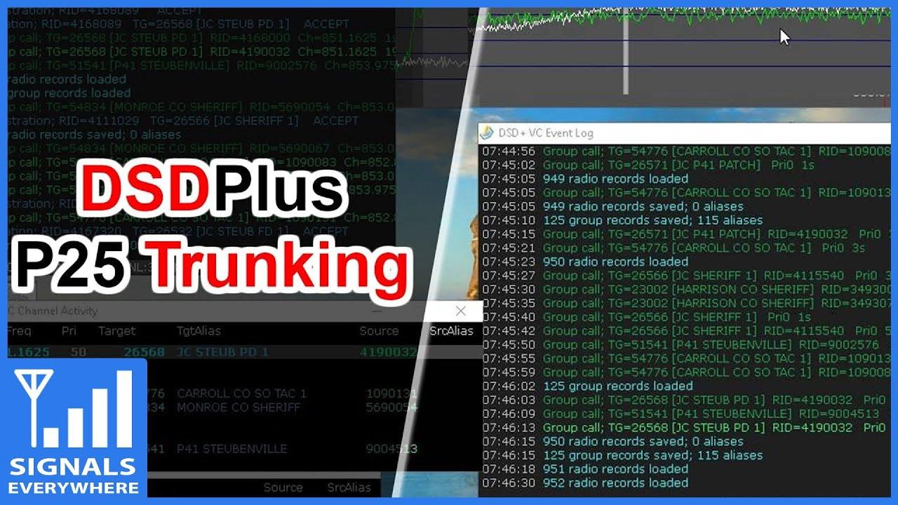RTL SDR Digital Radio Scanning With DSDPlus Setup FastlaneTutorial