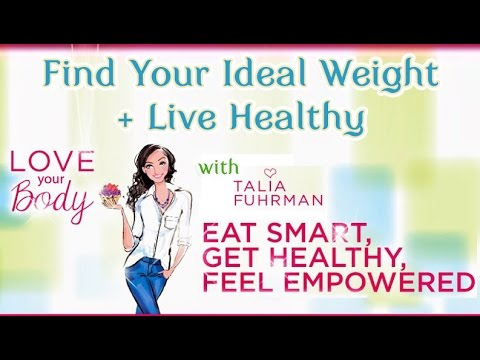 Love Your Body: Finding Your Ideal Weight + Living Healthy