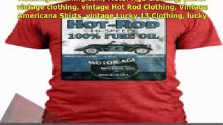 MotorAgeClothing.com, vintage Lucky 13 Clothing, lucky 13 vintage clothing, vintage lucky 13 t shirt