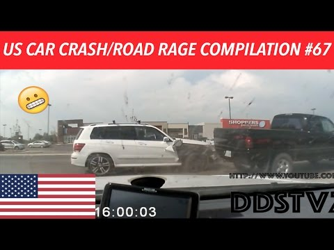 🇺🇸 [US ONLY] US CAR CRASH/ROAD RAGE COMPILATION #67