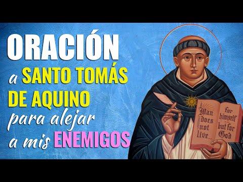 🙏 Oración a Santo Tomás de Aquino para ALEJAR A MIS ENEMIGOS 😰