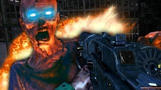 """ESCAPING THE ASYLUM!"" - Call of Duty Zombies ""DIXMOR ASYLUM"" Custom Map FINALE!"