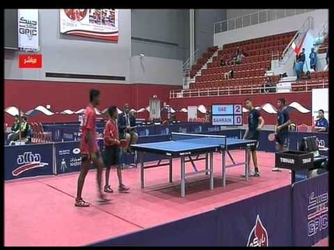 Bahrain VS UAE - Bahrain International open Table Tennis Championship 3-2-2015